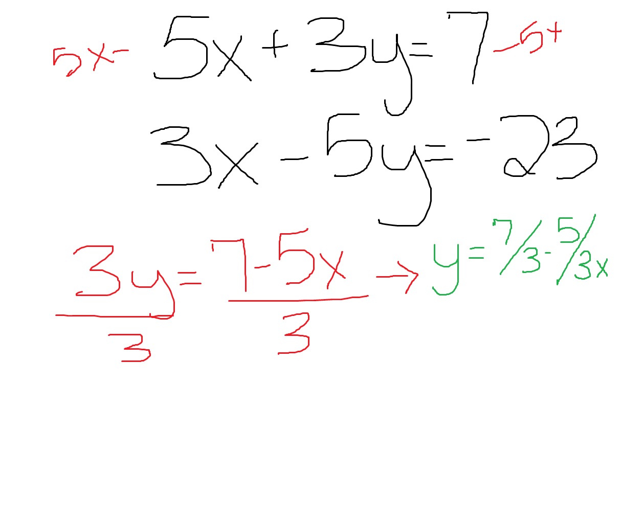 Solving Systems Of Equations Substitution Statefairride1