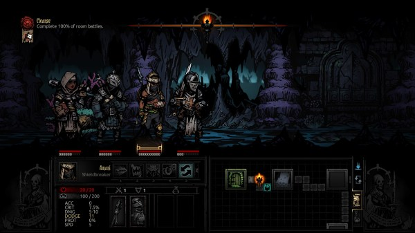 The Shieldbreaker arrives in the Darkest Dungeon hamlet ...