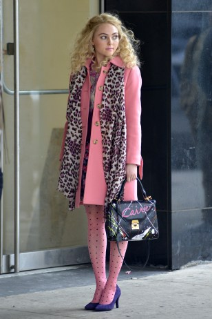 AnnaSophia Robb on the set of 'The Carrie Diaries' in Manhattan Featuring: AnnaSophia Robb Where: New York City, New York , United States When: 06 Feb 2013 Credit: TNYF/WENN.com