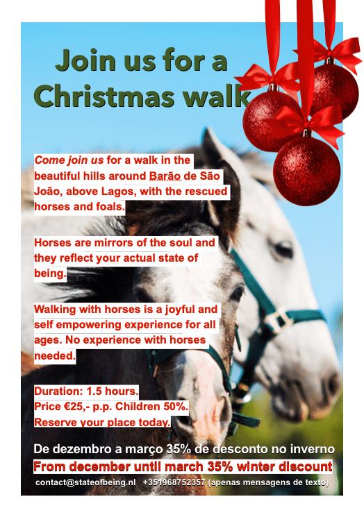 Christmas HorseWalk