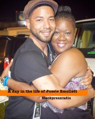 Jussie smollett - trayvon martin mom - blacksinhollywood