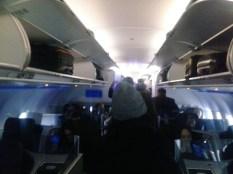 Jet Blue economy cabin