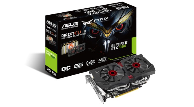 Asus GeForce GTX 960 Strix OC Edition 2GB Review