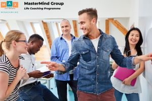 Max Comuzzi Life Coaching Group working together as a team