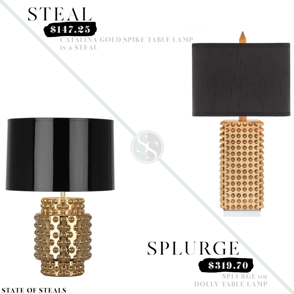Studded Table Lamp Look For Less State Of Steals