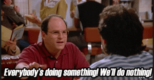 Market Experts on Job while Indian market in Seinfeld mode