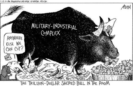 Military Industrial Complex cartoon