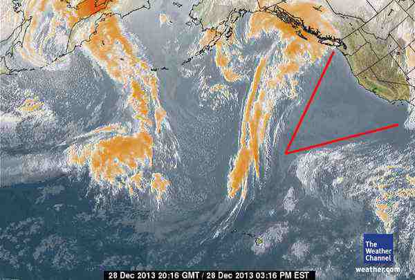 Was The California Drought Geoengineered? High-pressure-west-coast-usa-2-b