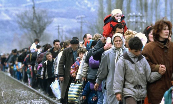 Refugees from Ukraine, Caucasus seek protection in Poland