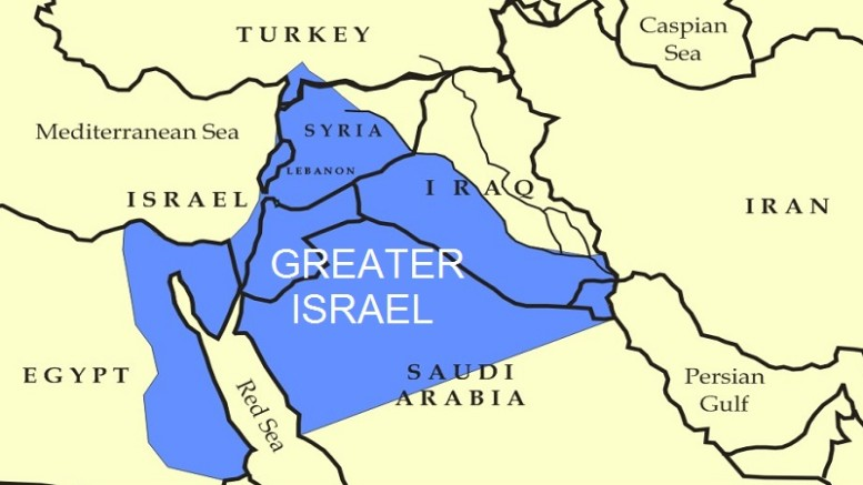 Mossad/CIA Plan to Create Greater Israel
