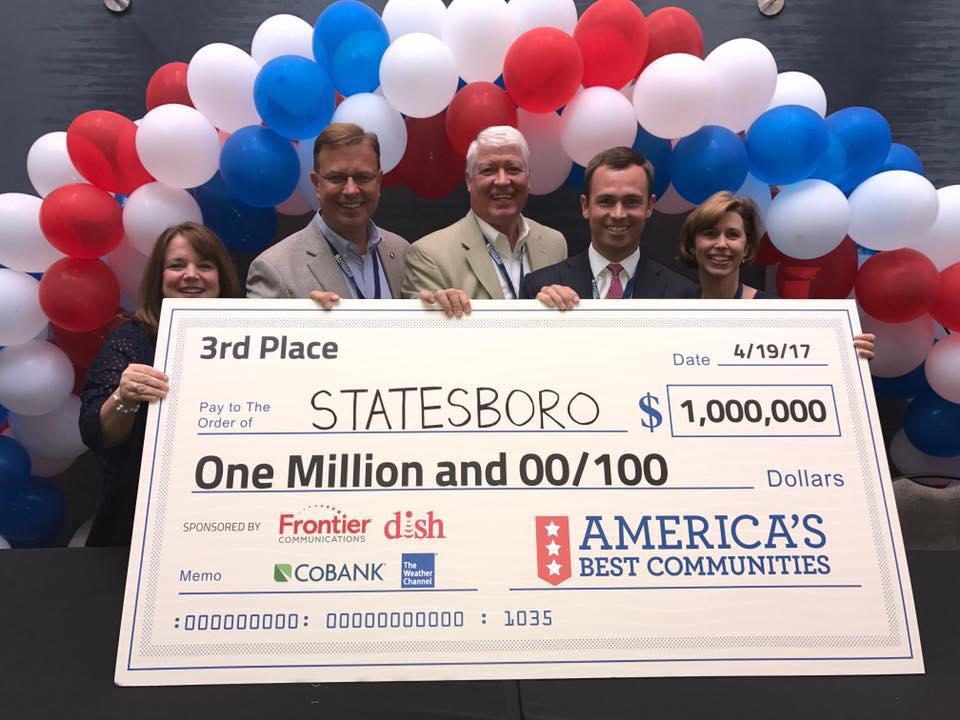 Statesboro Named One of America's Best Communities