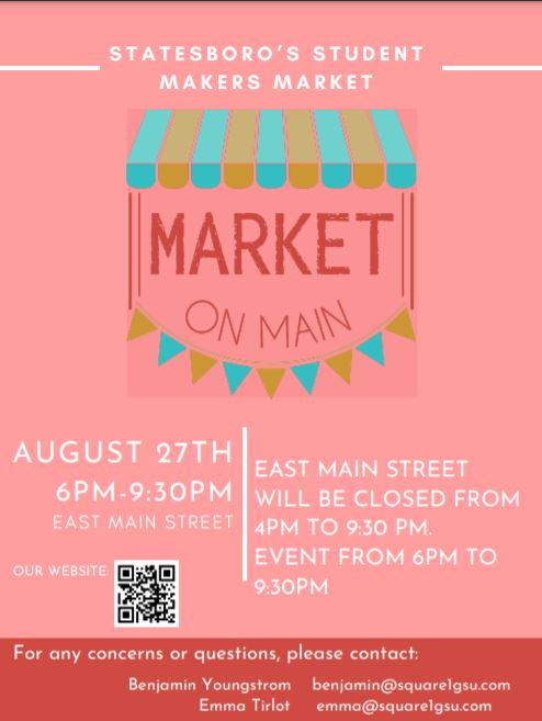 Market on Main hosted by Georgia Southern Entrepreneurs