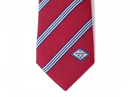 Arkansas Skinny Tie