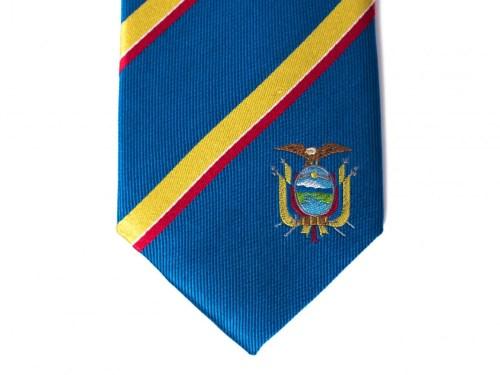Ecuador Skinny Tie