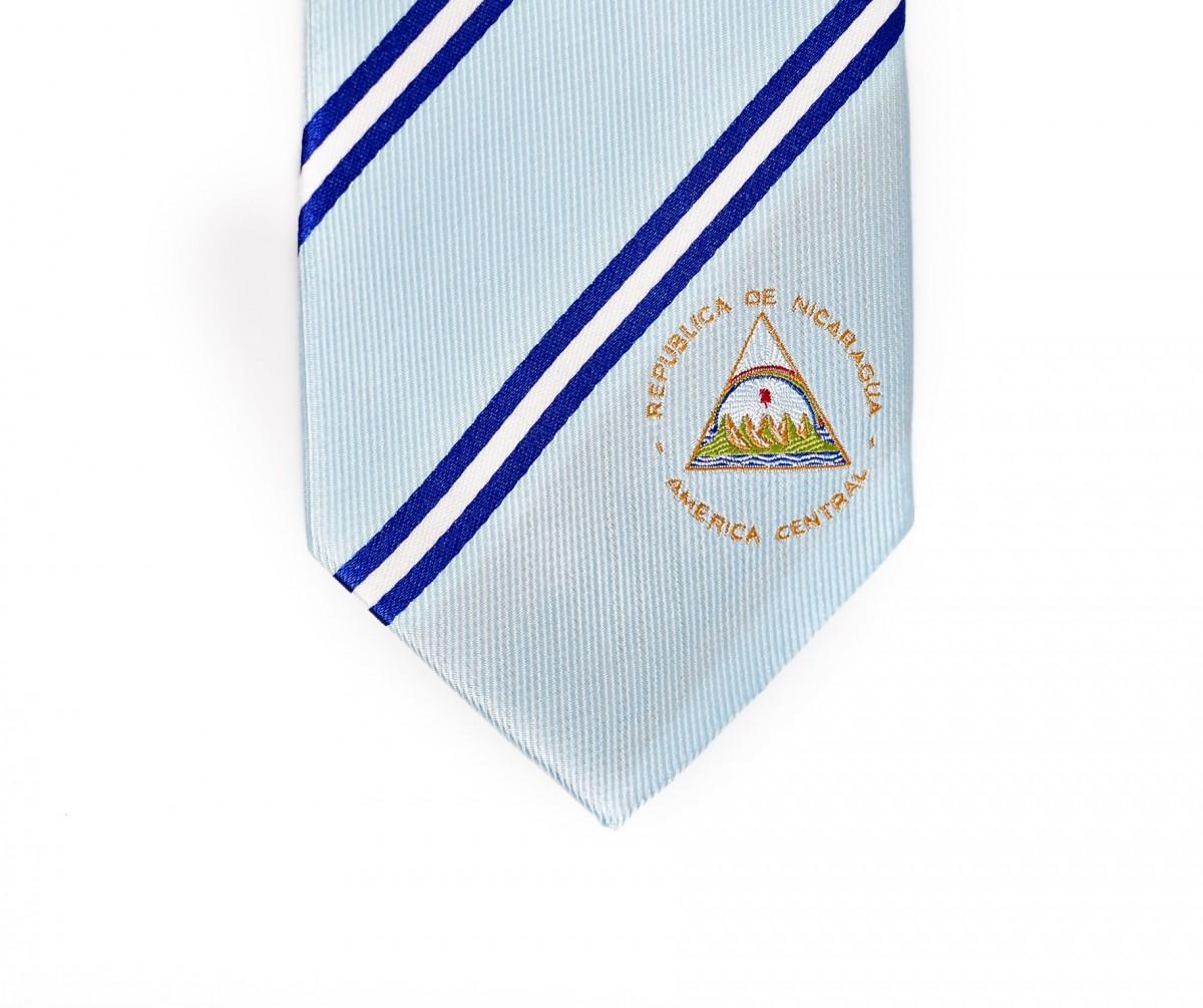 Nicaragua Skinny Tie