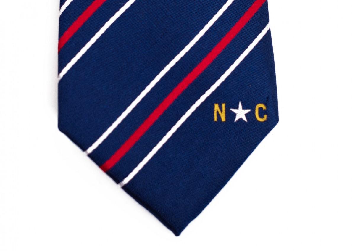 North Carolina Skinny Tie