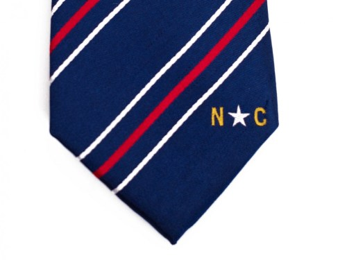 North Carolina Skinny Tie