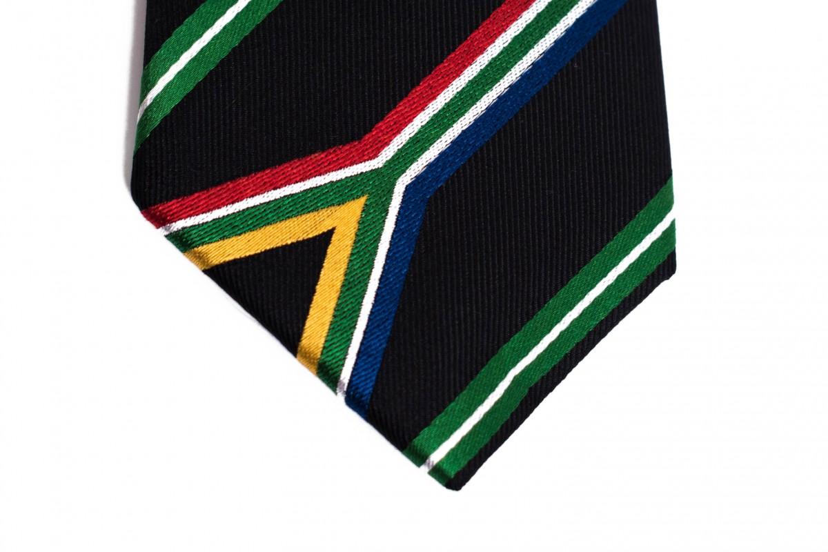 South Africa Skinny Tie