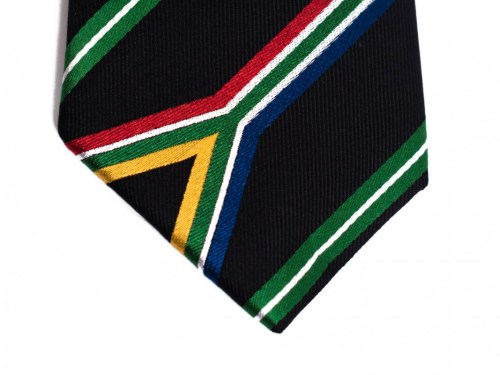 South Africa Skinny Tie