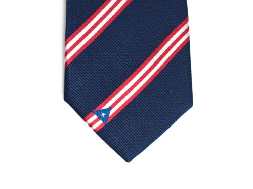 Puerto Rico Skinny Tie