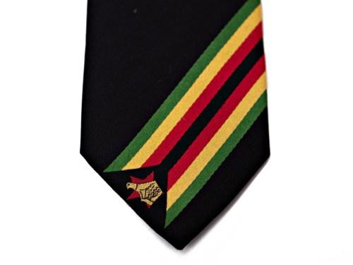 Zimbabwe Skinny Tie