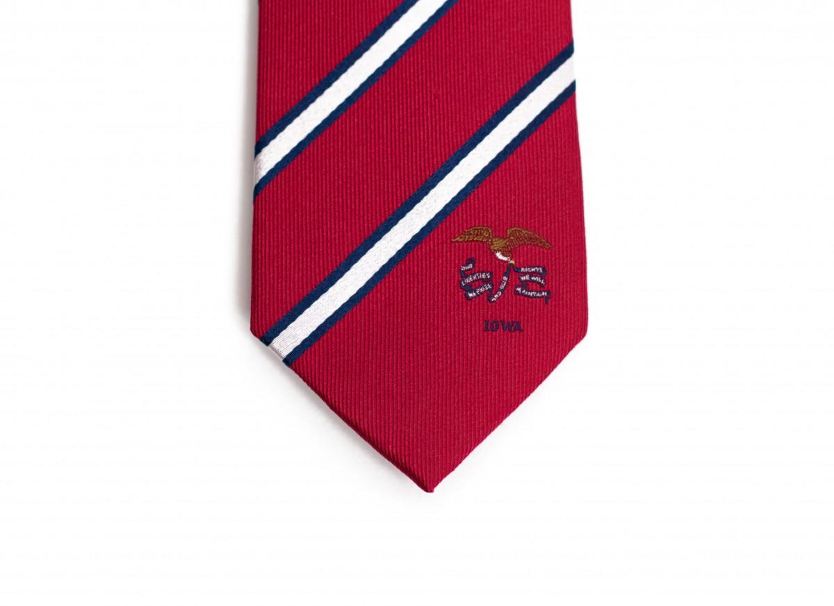 Iowa Skinny Tie