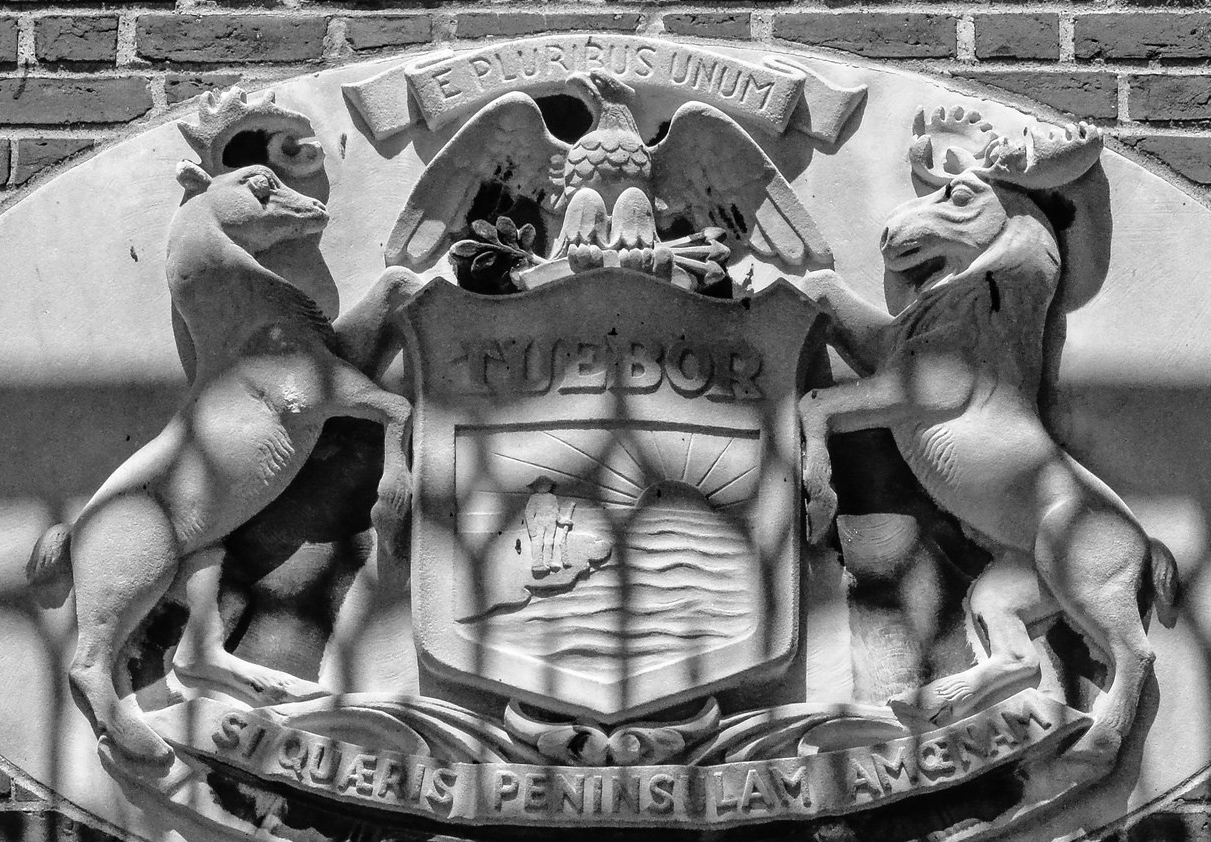 Michigan State Coat Of Arms