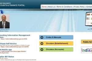 Railway AIMS Portal Salary Slip 2020-21: RESS Registration & Login