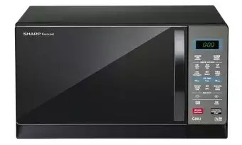 sharp microwave oven with grill r 607ek 25l