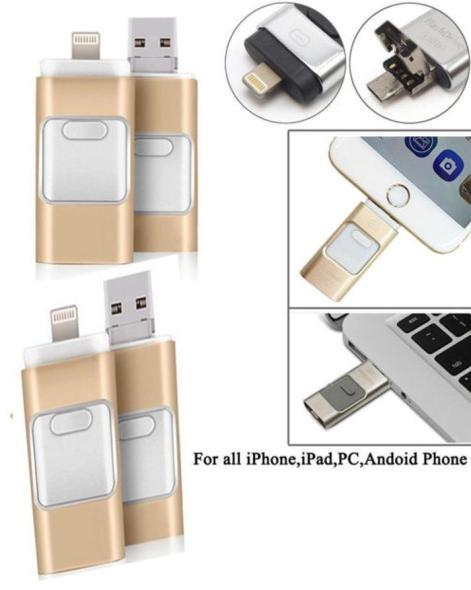 256GB i Flash Drive USB Memory Stick HD U Disk 3 in1 for Android ios iPhone  PC: Buy Online at Best Prices in Pakistan | Daraz.pk