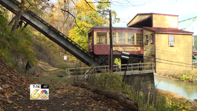 Volunteers working to rehabilitate trails alongside Inclined Plane