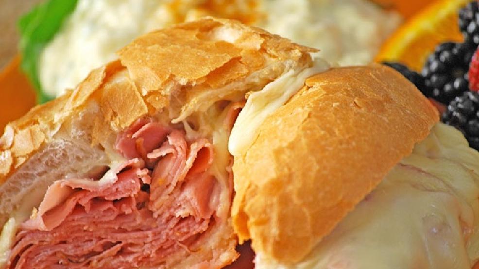 Hot Ham N Cheese Sandwiches WLUK