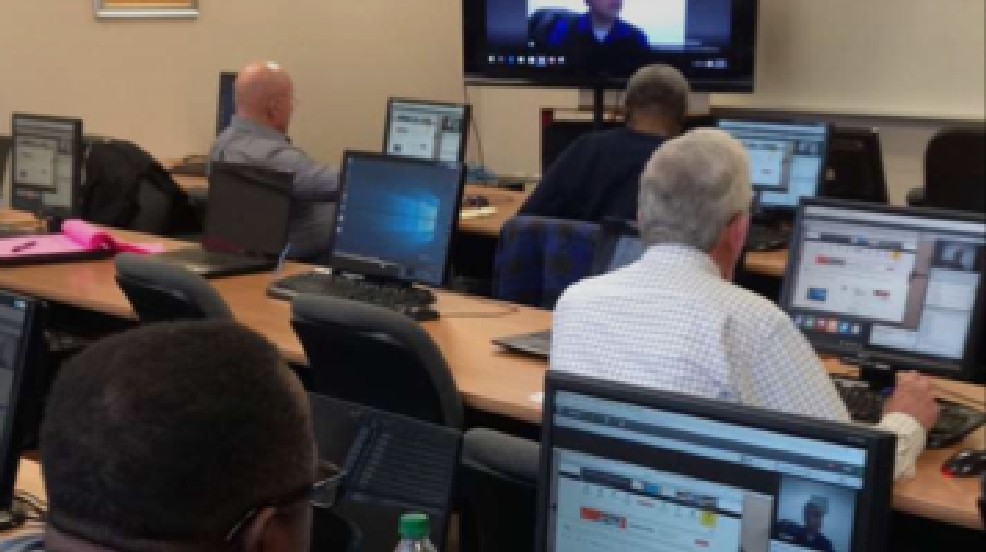Local nonprofit helps veterans learn computer skills | WTVCFOX