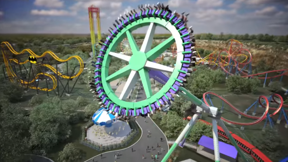 Six Flags Unveils Plans For Thrilling New Ride Fastest In