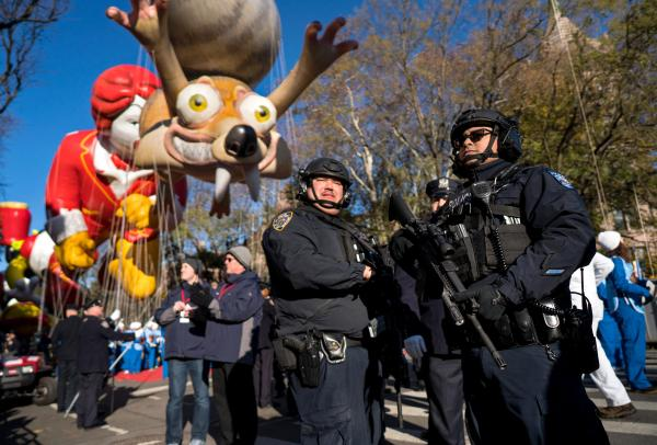 Macy's Thanksgiving parade revels on amid tight security ...