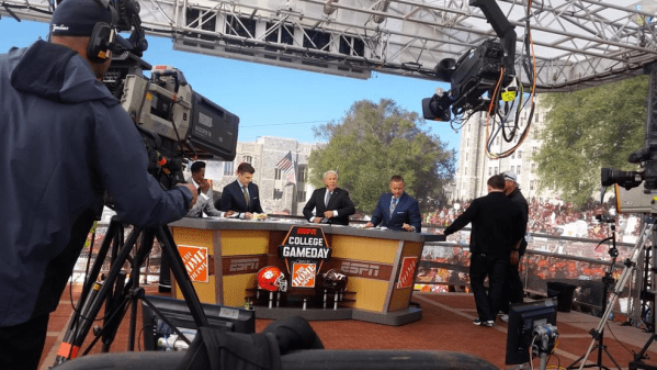 ESPN's live show College GameDay makes stop at Virginia ...