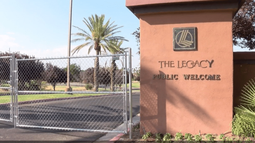 Legacy Golf Club closure leaves residents wondering what s next    KSNV Legacy Golf Club closure leaves residents wondering what s next
