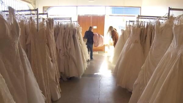 Military and first responder brides get free dresses via ...