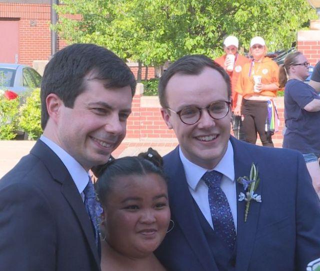 Politico Chasten Buttigieg Winning  Spouse Primary Wsbt