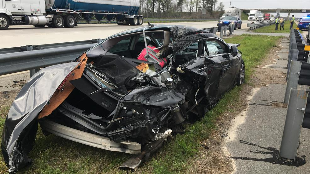 High-speed car chase ends in crash on I-75 | WGXA