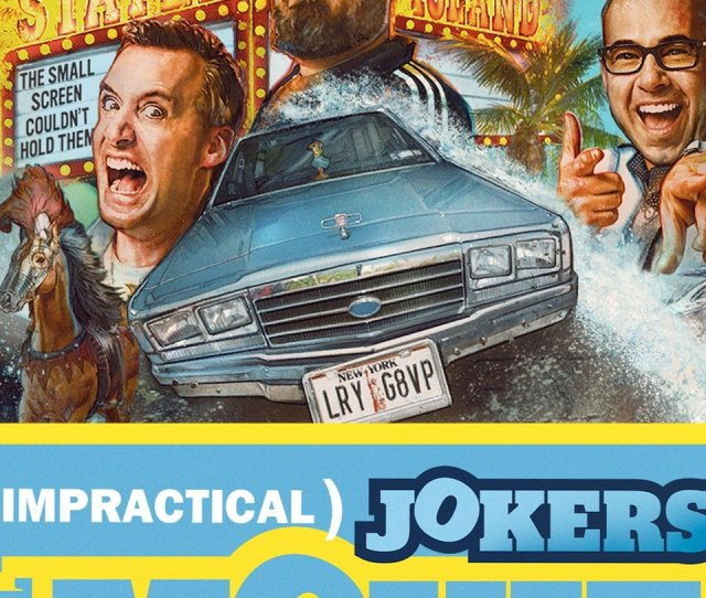 The Impractical Jokers Bring Their Hit Tv Show To Theaters Wsyx