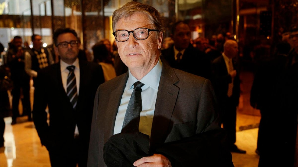 Image result for images of Bill Gates on Trump tower