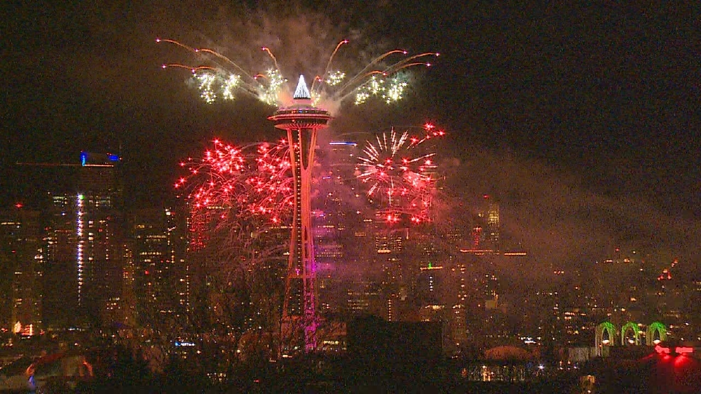 Watch: Ring in the New Year with fireworks at the Space ...