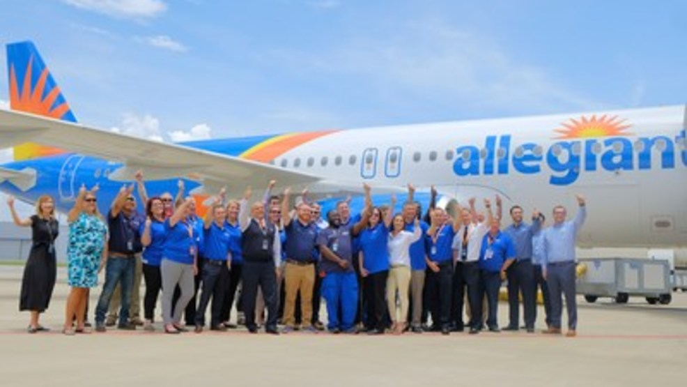 Resultado de imagen para Allegiant Air first A320 Alabama