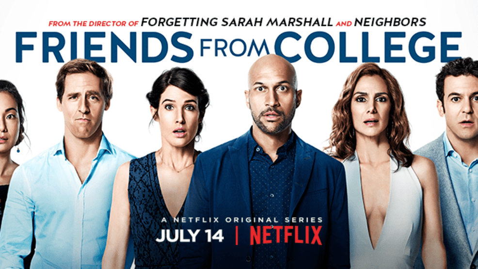 Image result for friends with college netflix