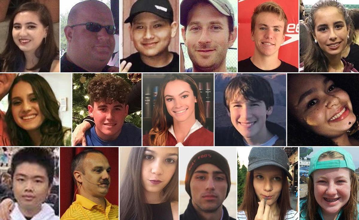 Marjory Stoneman Douglas HS victims