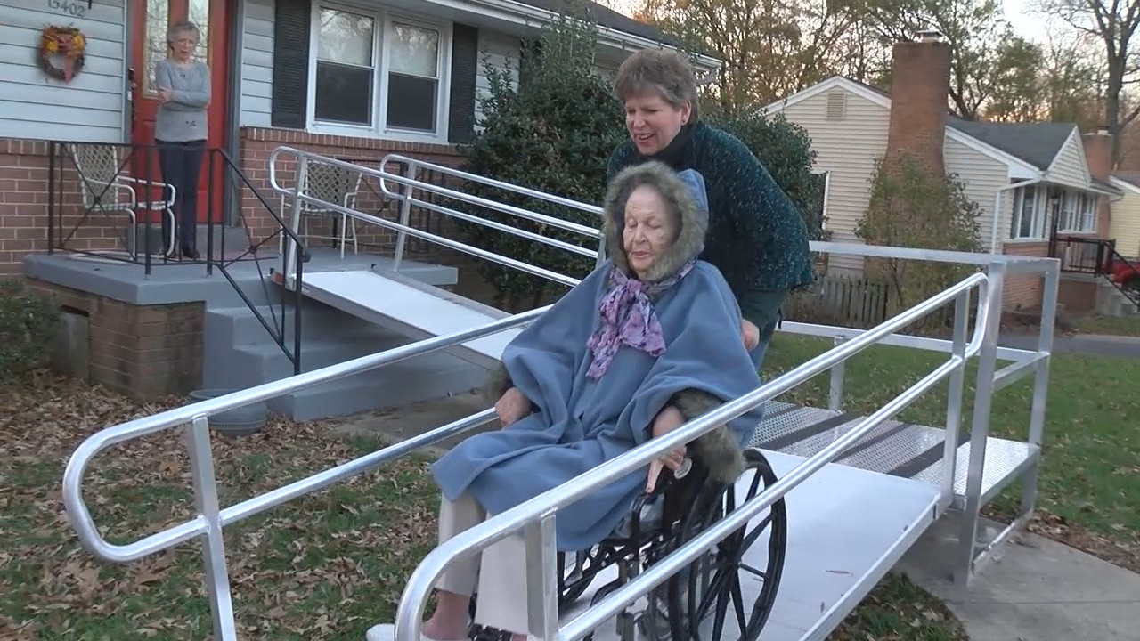 7 On Your Side Elderly Woman Trapped In Home Gets New