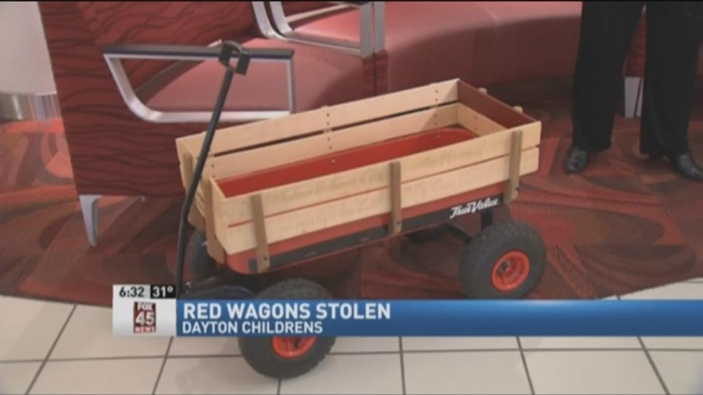 Patient wagons stolen from Dayton Children's Hospital | WTTE