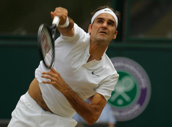 Federer wins 8th Wimbledon title, beating Cilic in final ...