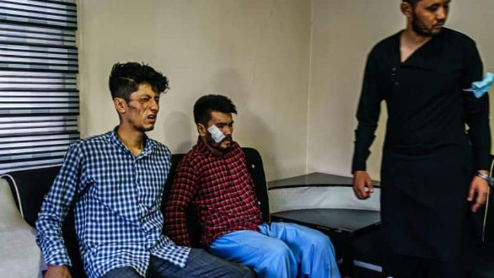 Taliban beat up Afghan journalists for covering women's protests, distressing images display injuries-dnm